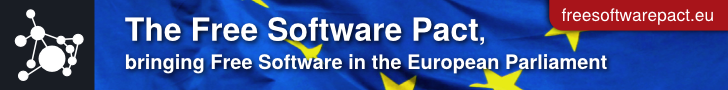 Free Software Pact banner
