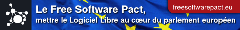 Bannière du Free Software Pact